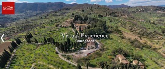 Capezzana Virtual Experience: un nuovo modo di visitare l'azienda